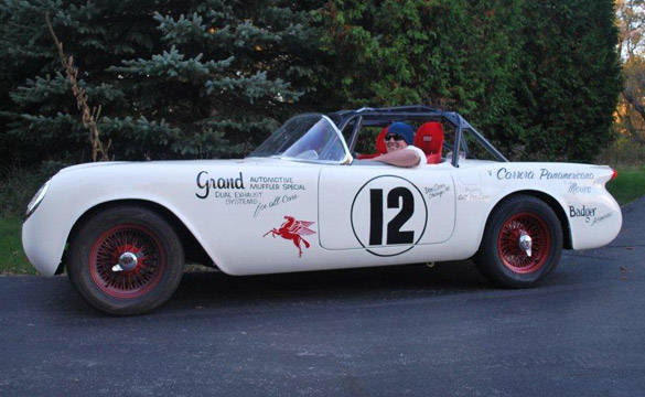 1954 Corvette To Run in La Carrera Panamericana