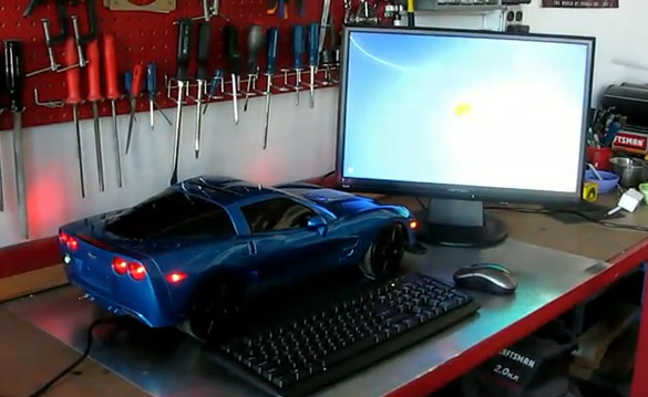 [VIDEO] Transformed: Corvette ZR1 PC, Radio Controlled!