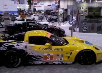 2010 SEMA: Chevy Display Features Corvette Triple Threat