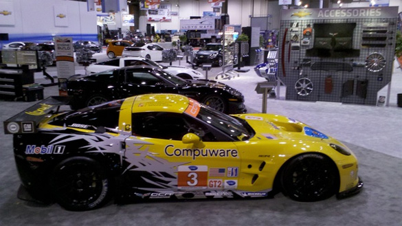2010 SEMA: Chevy Display Features Corvette Triple Threat