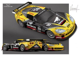 French Privateer Larbre Competition to Field GT2 Corvette C6.R in ILMC for 2011