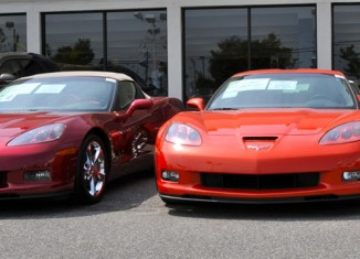 October 2010 Corvette Sales