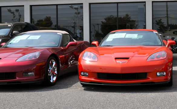 October 2010 Corvette Sales