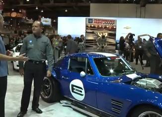 [VIDEO] 1963 E-ROD Corvette Grand Sport at SEMA
