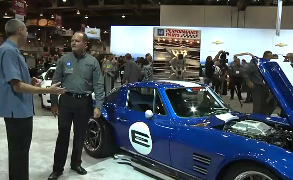 [VIDEO] 1963 E-ROD Corvette Grand Sport at SEMA