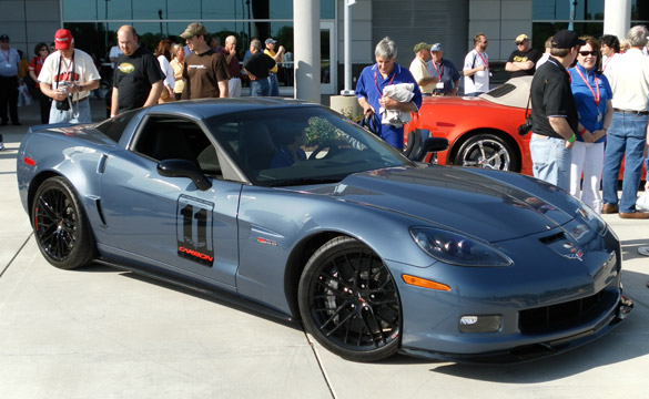 2011 Corvette Z06 Carbon Edition to MSRP for $90,960