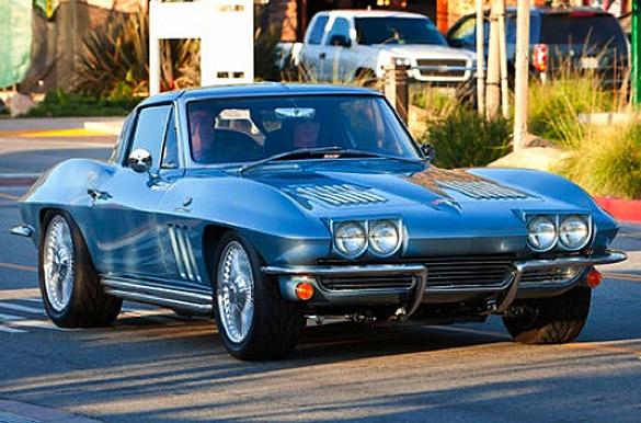 Rick Springfield's 1963 Corvette Sting Ray