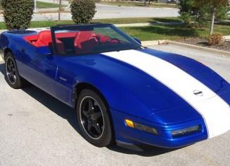 Corvettes on eBay: 1996 Corvette Grand Sport Convertible