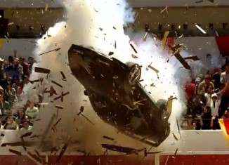 [VIDEO] C4 Corvette Goes Flying in New Mountain Dew Commercial