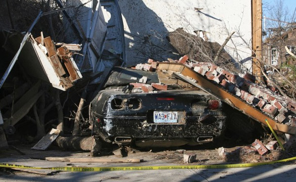 [PIC] Tornado Destroys C4 Corvette In St.Louis Suburb