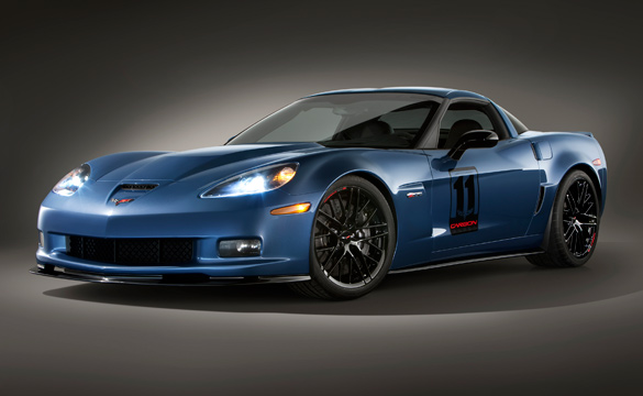 NCM Raffle: 2011 Supersonic Blue Corvette Z06 Carbon Edition