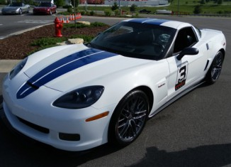 2011 Le Mans Anniversary Corvette Z06 to be Auctioned at Barrett-Jackson