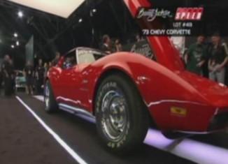 [VIDEO] Barrett-Jackson 2011: 1973 Corvette for Chip Miller Foundation Nets $31,000