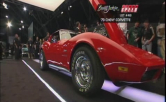 [VIDEO] Barrett-Jackson 2011: 1973 Corvette for Chip Miller Foundation Nets $31,000