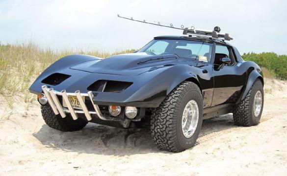 1969 Hemi-Powered 4-Wheel Drive Corvette Looks Like Fun