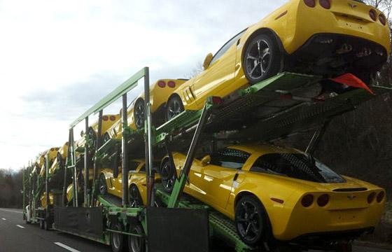 December 2010 Corvette Sales