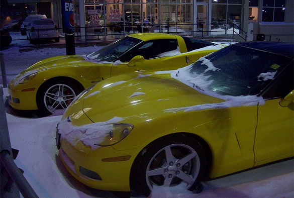 January 2011 Corvette Sales