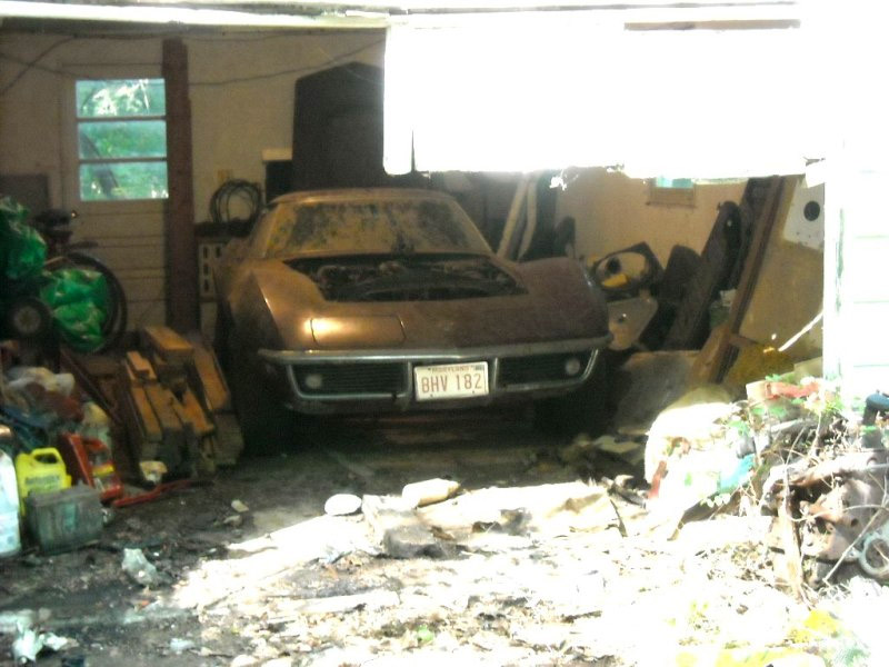 1969 Corvette Stingray Barn Car Found in Maryland