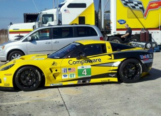 Corvette Racing's New 2011 C6.R Livery Spotted at Sebring Test