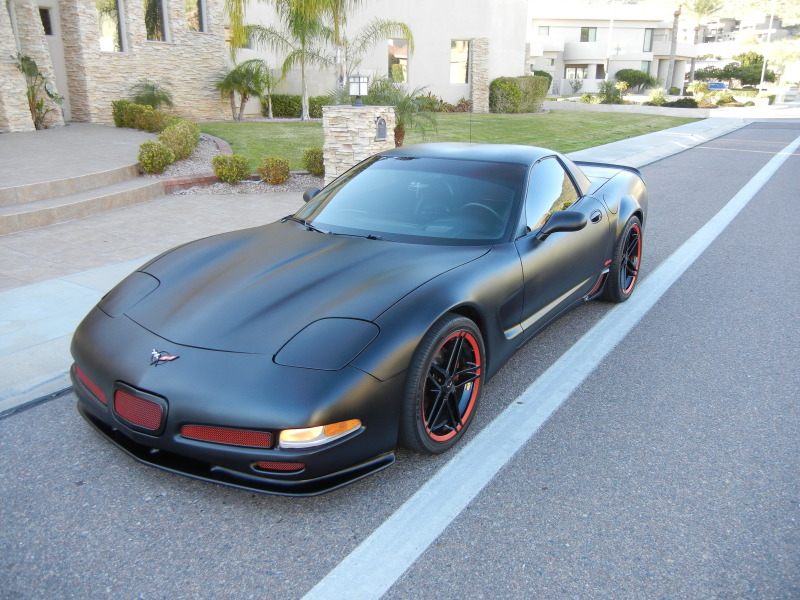 "Corvettes on eBay: ""Murdered Out"" 2004 Corvette Z06"