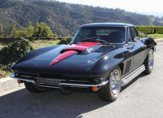 Guitarist Slash to Auction 1966 Corvette Coupe