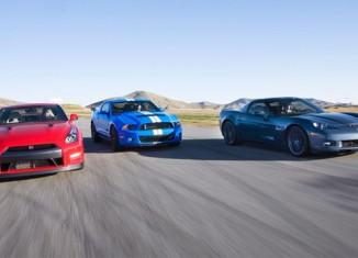 [VIDEO] Corvette Z06 vs GT500 vs GT-R: Motor Trend's 5-Figure Supercar Shootout