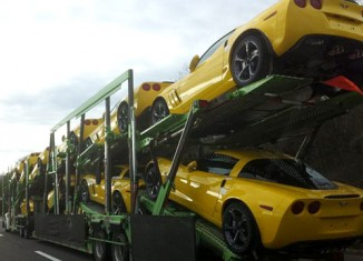 Corvette Pic of the Day: 10 Corvette Grand Sport Coupes