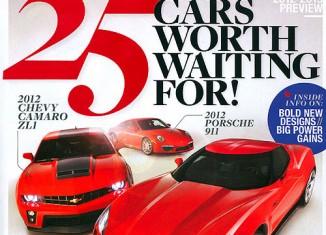 "April 2011 Car and Driver Mag Fuels C7 ""Transformers"" Corvette Speculation"