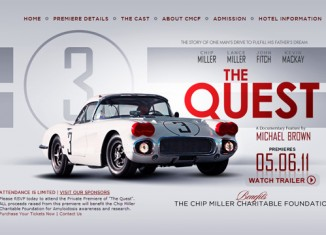 [VIDEO] 1960 #3 Le Mans Corvette Documentary 'The Quest' to Premiere in Carlisle on May 6, 2011