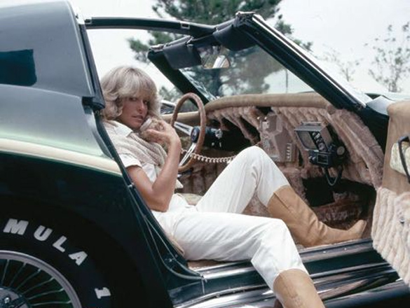 Corvettes on eBay: Farrah Fawcett's Foxy 1970 Corvette