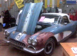 Auction Results: High Price Paid for '58 Corvette Barn Car