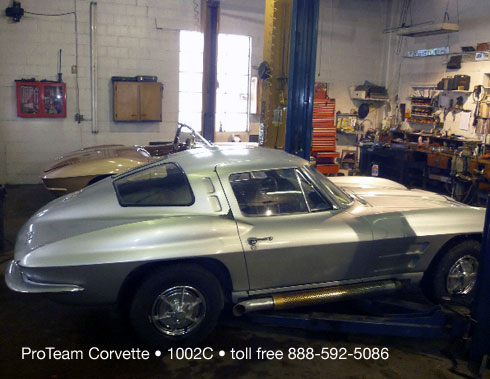 Info Needed on a Found 1963 Corvette Z06 Tanker Race Car