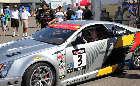 [VIDEO] Johnny O'Connell's Debut in the Cadillac CTS-V Coupe Racer