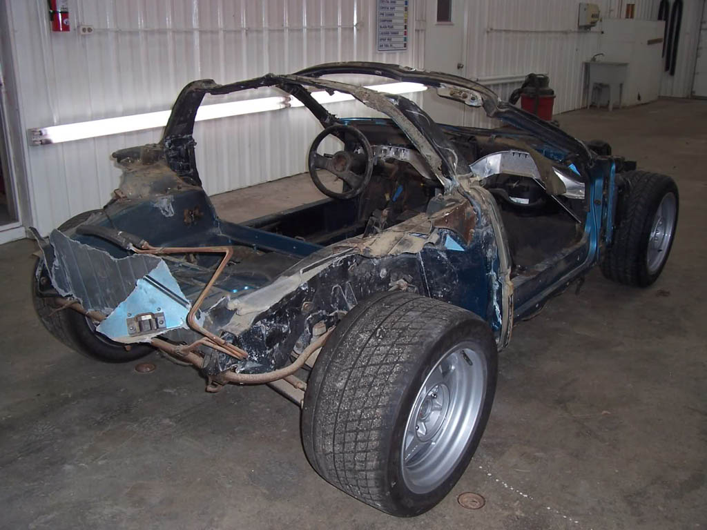 Follow the Restoration of a 1988 Corvette ZR-1 Prototype
