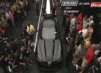 [VIDEO] 2012 Centennial Edition Corvette Z06 #100 Sells at Barrett-Jackson for $175,000