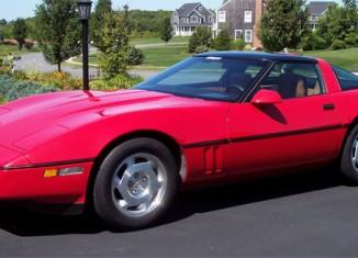 Corvette Values: 1988 Corvette Coupe
