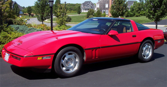 Corvette Values: 1988 Corvette Coupe