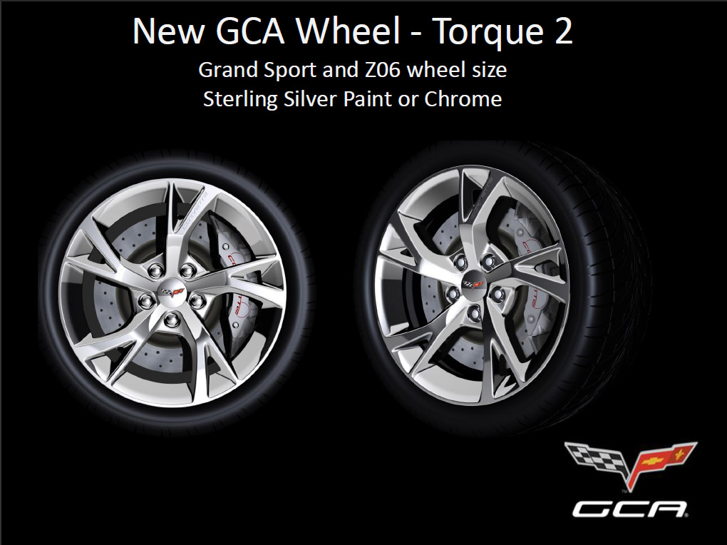 Genuine Corvette Accessories to Offer New Torque 2 Wheel