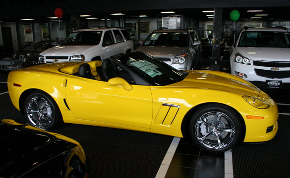 April 2011 Corvette Sales