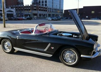 Find this Stolen 1962 Corvette and Receive a Lifetime of Birthday Cakes
