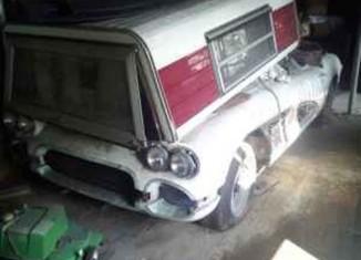 Corvettes on Craigslist: 1961 Corvette Barn Find in Atlanta