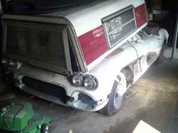 Corvettes on Craigslist: 1961 Corvette Barn Find in Atlanta