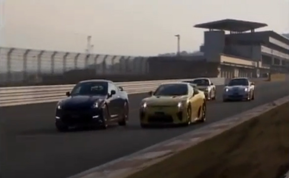 [VIDEO] Japan's Better Motoring Pits LFA vs. GT-R, ZR1, 911 GT2 RS and F430 GT3