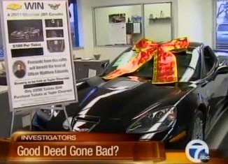 [VIDEO] Corvette ZR1 Raffle to Benefit Fallen Officer Goes Bad for Dealer