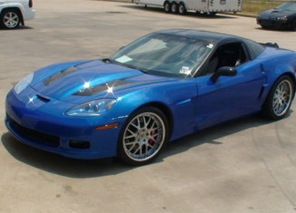[VIDEO] LMR's Twin-Turbo Corvette Sets Standing Mile Record at 231 MPH