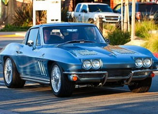 Don't Mess with Rick Springfield's Corvette
