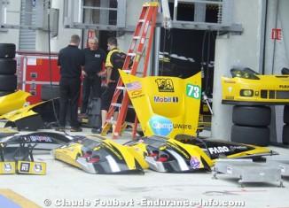 [PICS] Corvette C6.Rs Arrive at Le Mans