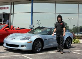 [PIC] 2012 Carlisle Blue Corvette Grand Sport Coupe