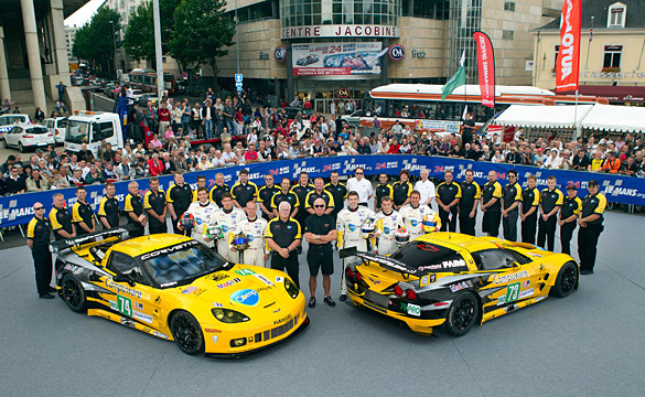 Corvette Racing Celebrates Chevrolet Centennial at 24 Hours of Le Mans