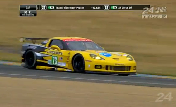 2011 Le Mans: Onboard Video from the #73 Corvette C6.R